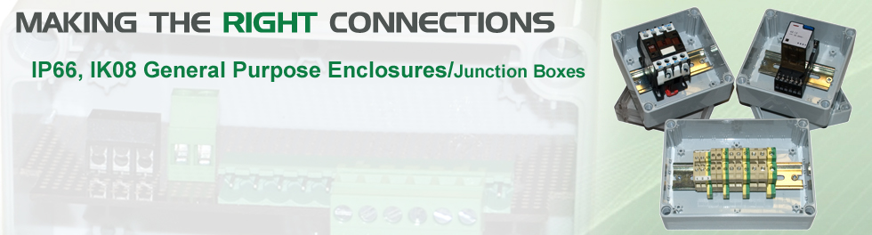 DN IP66 EnclosuresJunction Boxes