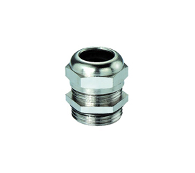 Cable Glands/Grommets - Nickel Plated Brass Metric Cable Glands - 101029M32