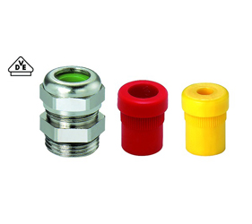 Cable Glands/Grommets - Nickel Plated Brass Metric Cable Glands - 18M320710