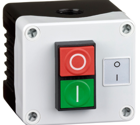 Control Stations - Dual Pushbutton, Single Switch Housing - 2DE.01.10AB
