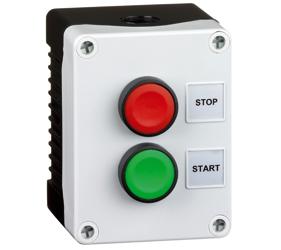 Control Stations - Push Buttons, Flush Head - 2DE.02.02AB