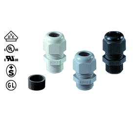 Cable Glands/Grommets - Nylon Metric Cable Glands - 50.616 PA7001L