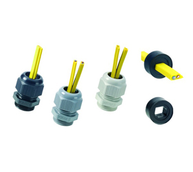 Cable Glands/Grommets - Nylon Metric Cable Glands - 50.620PA7001ASI2