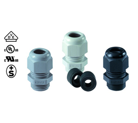 Cable Glands/Grommets - Nylon Metric Cable Glands - 50.612 PA/R