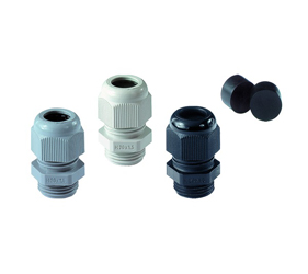 Cable Glands/Grommets - Nylon Metric Cable Glands - 50.612PA7035/STO