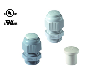 Cable Glands/Grommets - Nylon Metric Cable Glands - 50.620PA7035/V