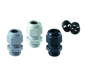 Cable Glands/Grommets - Nylon Metric Cable Glands - 50640PA7035/zXz