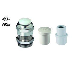 Cable Glands/Grommets - Nickel Plated Brass Metric Cable Glands - 50.612 M/V