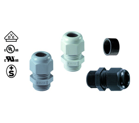 Cable Glands/Grommets - Nylon Metric Cable Glands - 50.048M63PA12