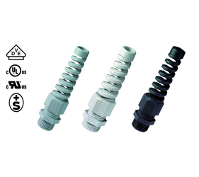Cable Glands/Grommets - Nylon Metric Cable Glands - 50021M25BS7035
