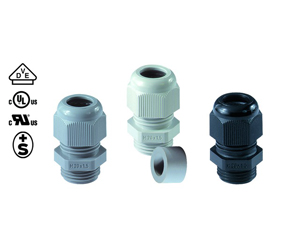 Cable Glands/Grommets - Nylon Metric Cable Glands - 50007M12PASWR