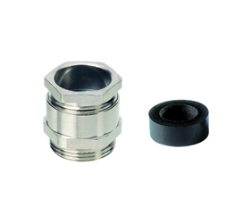 Cable Glands/Grommets - Nickel Plated Brass Metric Cable Glands - 156329M40