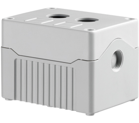 Enclosures - Rectangular Enclosures/Junction Boxes - DE02D-A-GG-2