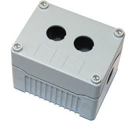 Enclosures - Rectangular Enclosures/Junction Boxes - DE02D-P-GG-2