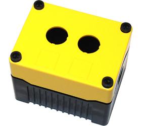 Enclosures - Rectangular Enclosures/Junction Boxes - DE02D-P-YB-2