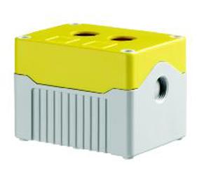 Enclosures - Rectangular Enclosures/Junction Boxes - DE02D-P-YG-2