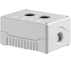 Enclosures - Rectangular Enclosures/Junction Boxes - DE02S-A-GG-2