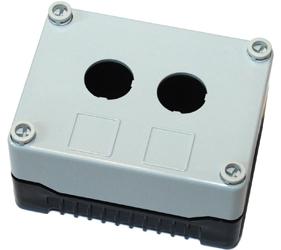Enclosures - Rectangular Enclosures/Junction Boxes - DE02S-P-GB-2