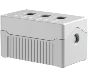 Enclosures - Rectangular Enclosures/Junction Boxes - DE03D-A-GG-3