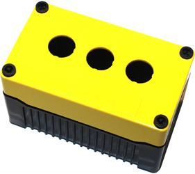 Enclosures - Rectangular Enclosures/Junction Boxes - DE03D-A-YB-3