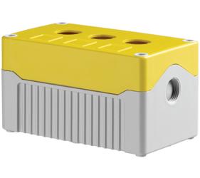 Enclosures - Rectangular Enclosures/Junction Boxes - DE03D-A-YG-3