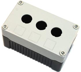Enclosures - Rectangular Enclosures/Junction Boxes - DE03D-P-GB-3