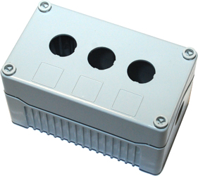 Enclosures - Rectangular Enclosures/Junction Boxes - DE03D-P-GG-3