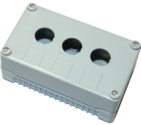 Enclosures - Rectangular Enclosures/Junction Boxes - DE03S-P-GG-3