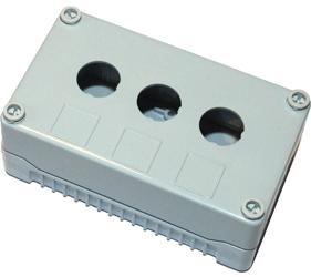 Enclosures - Rectangular Enclosures/Junction Boxes - DE03S-P-GG-3