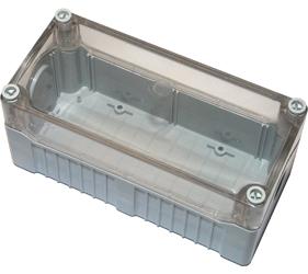 Enclosures - Rectangular Enclosures/Junction Boxes - DE04D-A-TG-0