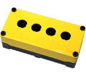 Enclosures - Rectangular Enclosures/Junction Boxes - DE04S-P-YB-4