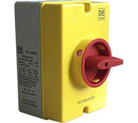 Rotary Isolator Switches - AC Rotory Isolator Switches - DE1S.04.20AC