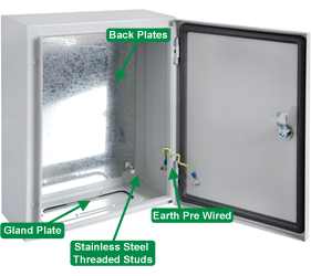 Enclosures - Steel Door Enclosures - DEDS0100