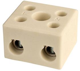 Emech Terminals/Accessories - Steatite Ceramic High Temp. Blocks - DESTB-1002