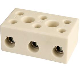 Emech Terminals/Accessories - Steatite Ceramic High Temp. Blocks - DESTB-1003