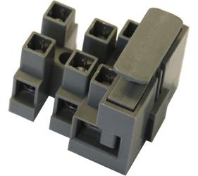 Emech Terminals/Accessories - Fused Pillar Terminal Blocks - DFTBN/3