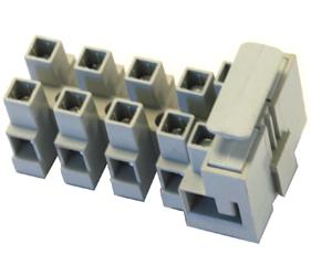 Emech Terminals/Accessories - Fused Pillar Terminal Blocks - DFTBN/5