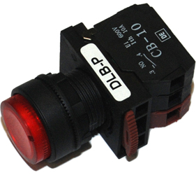 Switches and Lamps - Switches - DLB22-P11RI