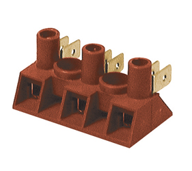 Emech Terminals/Accessories - Screw to Tab Terminal Blocks - FV77/2P