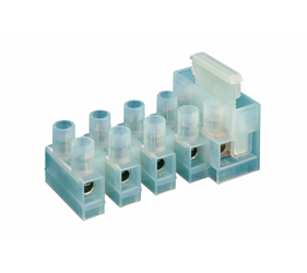 Emech Terminals/Accessories - Fused Pillar Terminal Blocks - PA283WP/3P