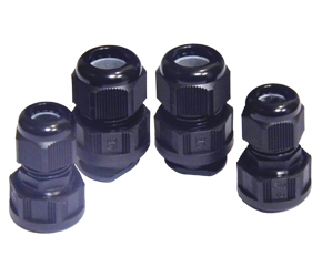 Cable Glands/Grommets - Nylon Metric Cable Glands - K341-1032-02