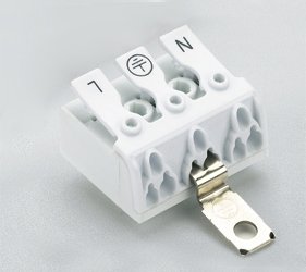 Emech Terminals/Accessories - Screw to Pushwire Pillar Blocks - HY240/5 NY