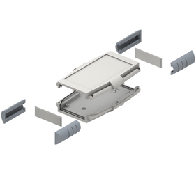 33133435 - Series 33 Enclosures Corner Grip Sections