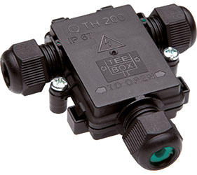 Weatherproof/Waterproof Connectors Range - TeeBox - THA.200.F2E.Z
