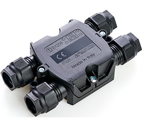 Weatherproof/Waterproof Connectors Range - TeeBox - THA.209.E1A
