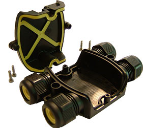 Weatherproof/Waterproof Connectors Range - TeeBox - THA.209.C1A