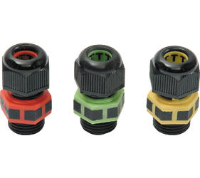 Cable Glands/Grommets - Nylon Metric Cable Glands - THA.451.B0E
