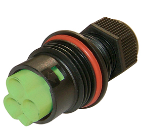 Weatherproof/Waterproof Connectors Range - TeePlug & Sockets - THB.384.L1A.AG.Z