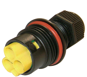 Weatherproof/Waterproof Connectors Range - TeePlug & Sockets - THB.384.L2A