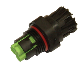 Weatherproof/Waterproof Connectors Range - TeePlug & Sockets - THB.386.A1A.AG.Z